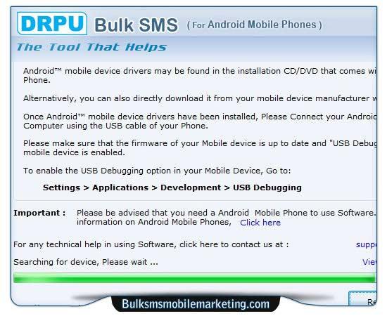 Windows 7 GSM Mobile SMS Marketing 8.2.1.0 full