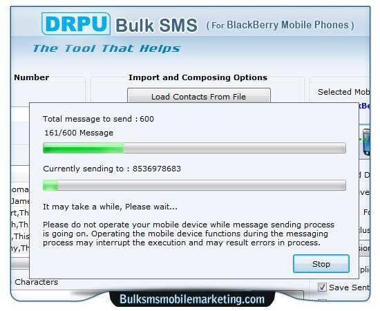 Windows 7 Bulk SMS Marketing Blackberry 8.2.1.0 full