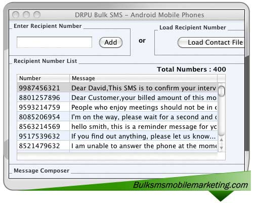 SMS Marketing Software Android Mac 8.2.1.0 full