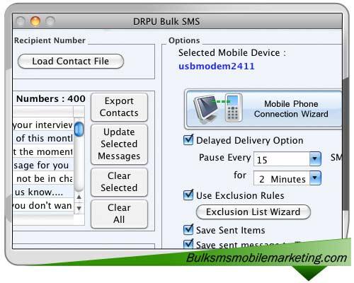 Bulk SMS Marketing Mac
